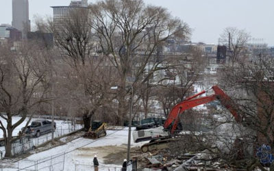 Demolition in Ohio City signals next steps in creation of park at Irishtown Bend